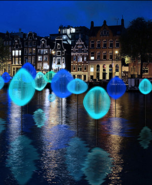 Amsterdam light festival apertura OK