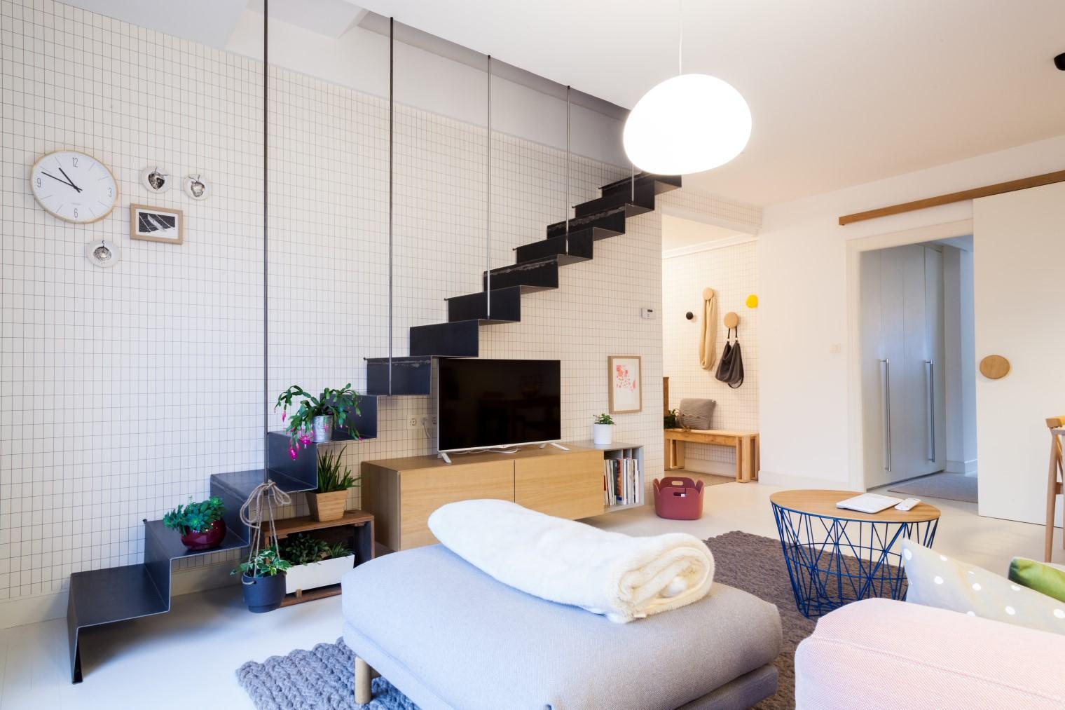 Casa itxaso una vivienda en durango femenina joven y for Decoracion piso en blanco