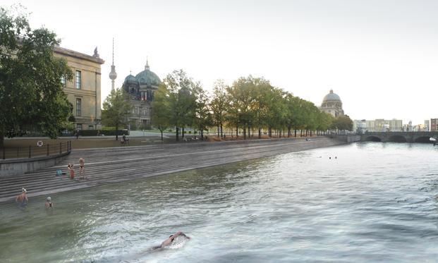 Flussbad Berlín