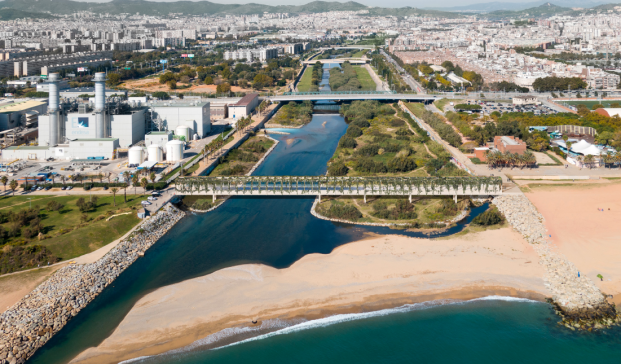 Proyecto sobre el río Besós, de AOB.