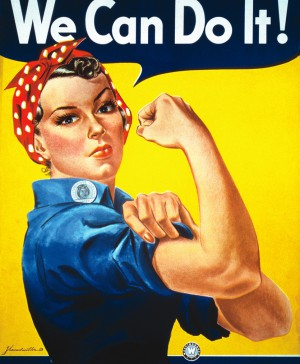 Poster Feminista We_Can_Do_It!