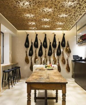 Restaurante cinco jotas Madrid diariodesign