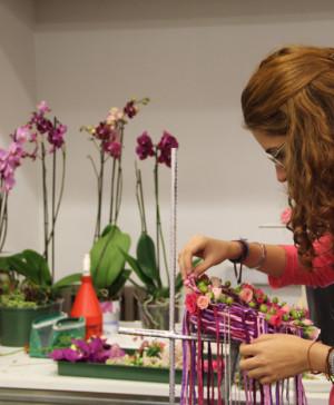 Saló Ensenyament Escola art floral apertura