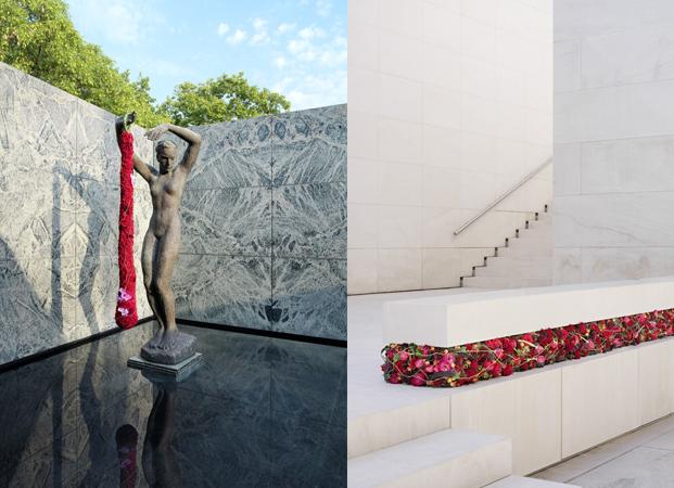 fotografies per el llibre barcelona 21th floral architecture en colaboracioi amb l'escola art floral de catalunya