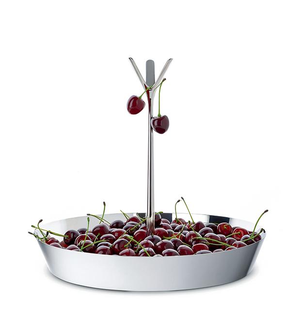 coleccion alessi primavera verano frutero con cerezas accesorios de cocina diariodesign