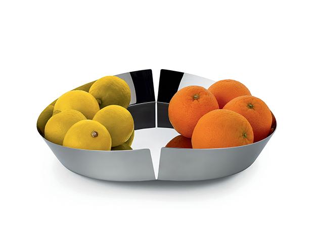 coleccion de alessi frutero metal accesorios de cocina diariodesign