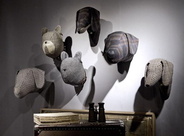 softheads aberfeld cabezas de animales decorativas diariodesign