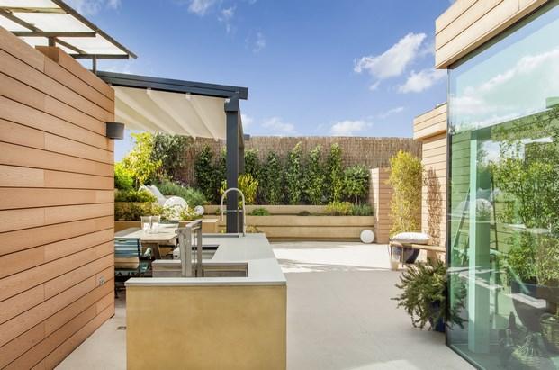 terraza exterior atelier de arte de miriam barrio diariodesign