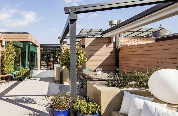 terraza atelier de arte de miriam barrio diariodesign