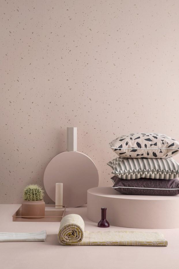 ferm living papeles pintados confetti diariodesign