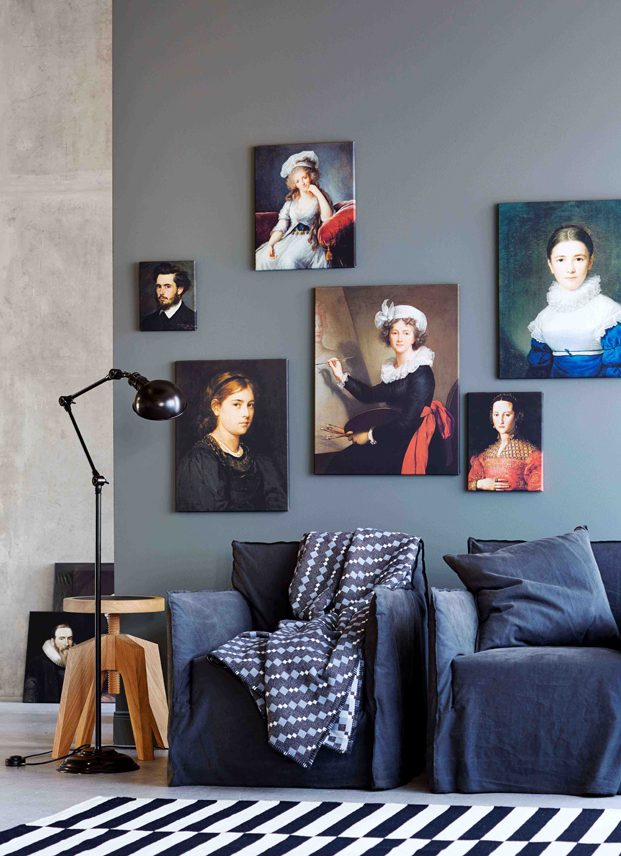 Bilder als Wanddekoration, Pictures as wall decoration,