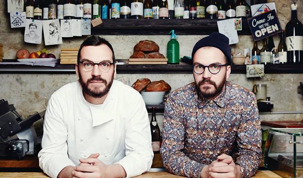 Stefano y Max, del restaurante Xemeis Barcelona