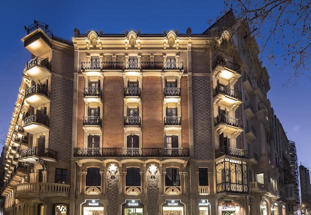 fachada the monument hotel barcelona