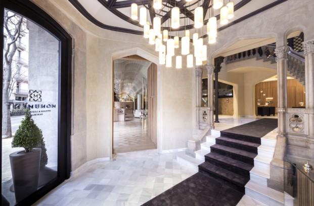 monument hotel barcelona entrada diariodesign