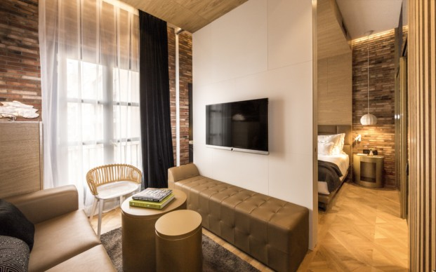 Monument hotel habitacion Junior Suite en barcelona