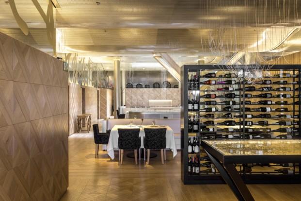 the monument hotel Restaurante Lasarte en barcelona de martin berasategui diariodesign