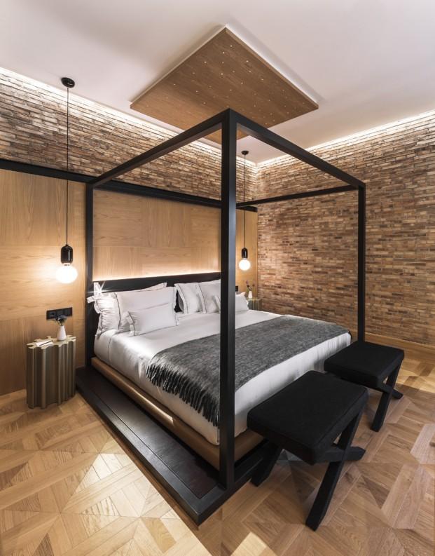 monument hotel Suite Battlló Detalle Dormitorio diariodesign