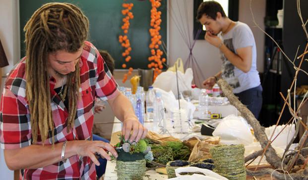 Salo ensenyament Escola art floral 09