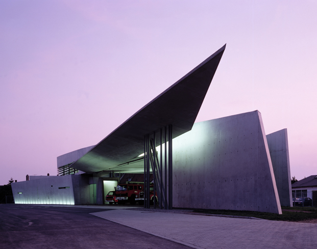 Vitra Fire Station zaha hadid Christian Richters