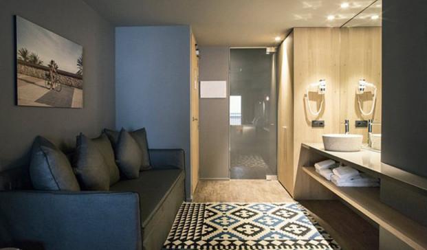 habitacion Yurbban Hotel barcelona diariodesign
