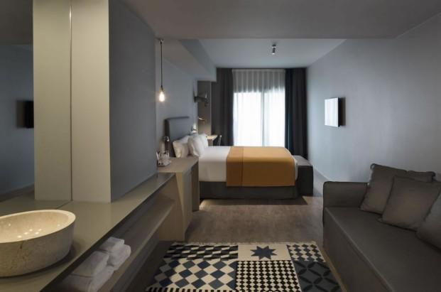 dormitorio Yurbban Hotel Barcelona