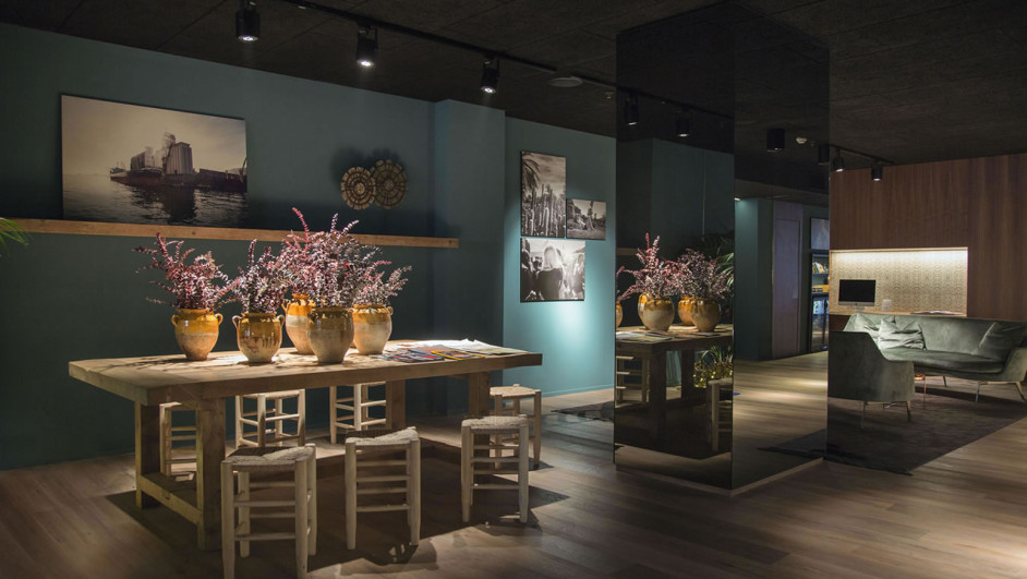 hotel Yurbban en barcelona Lobby diariodesign