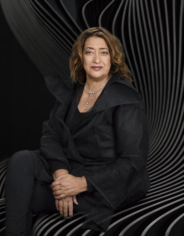 Zaha Hadid por Mary McCartney
