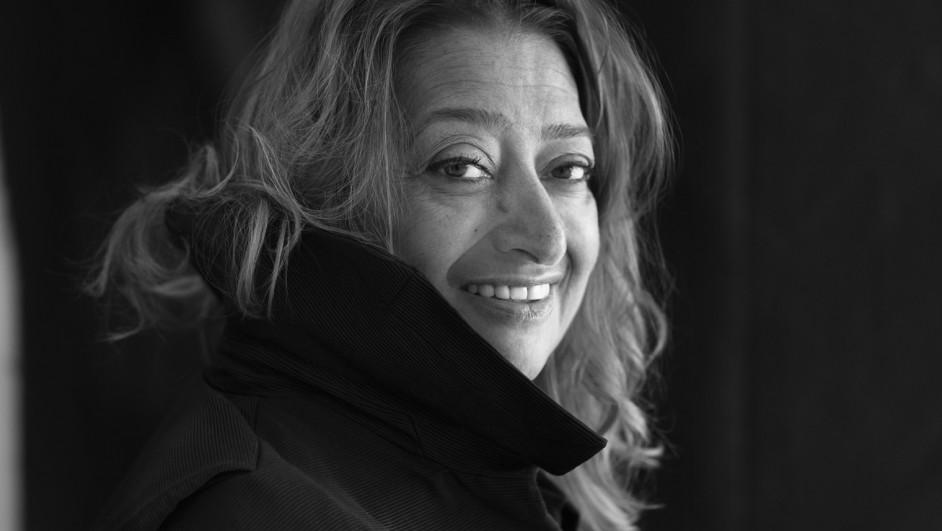 Zaha Hadid by Brigitte Lacombe