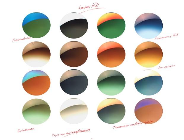 colores lentes