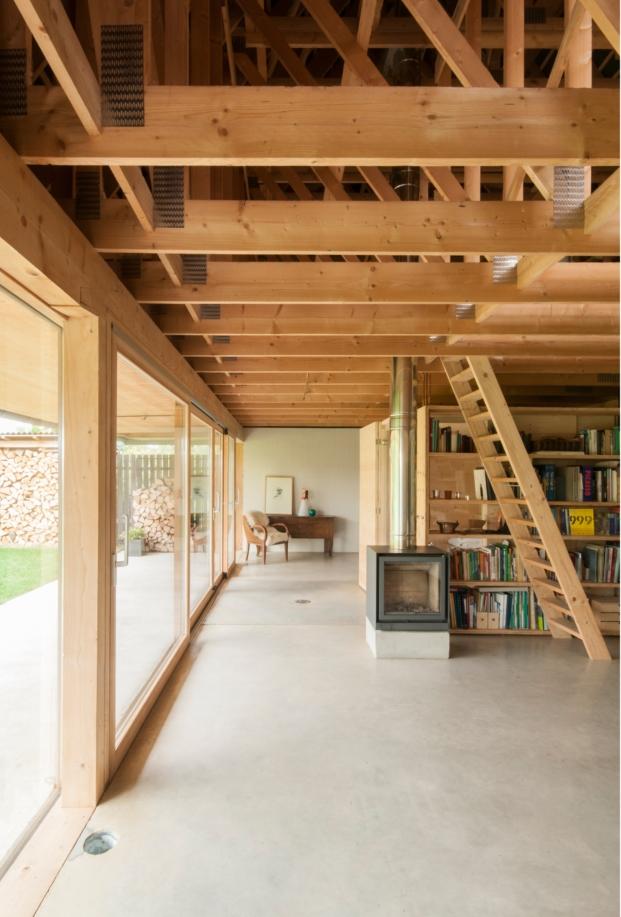 casas modernas e  interiores  de estudio gens disneyland alsacia