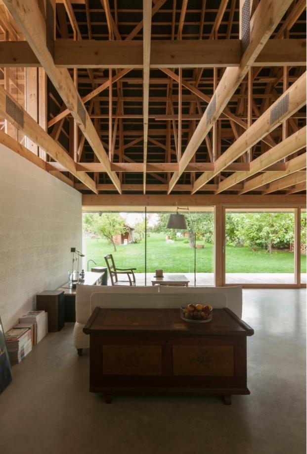 estructura de madera de estudio gens en alsacia diariodesign