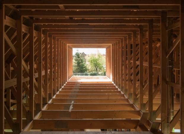 refugio en alsacia en madera de estudio gens en diariodesign