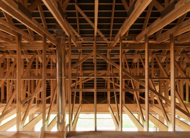 estructura madera gens disneyland alsacia