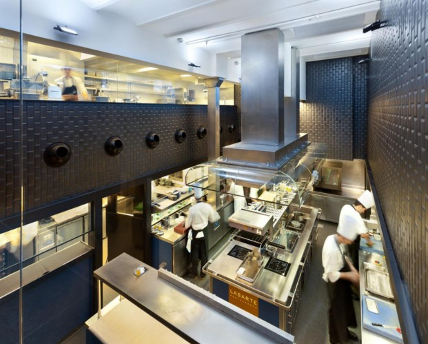 cocina restaurante lasarte hotel monument hotel barcelona diariodesign