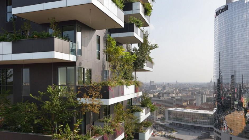 Bosco verticale en Milan