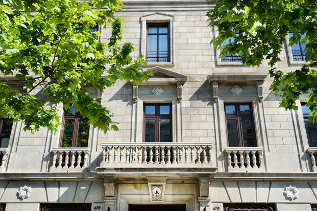 fachada cotton hotel house en barcelona diariodesign
