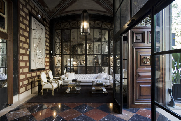 recepcion Cotton hotel house diariodesign