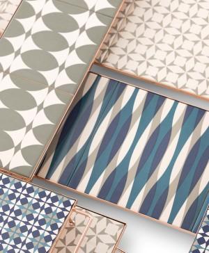 M&M Big Composition Blue Grey Detail bandejas accesorios gan