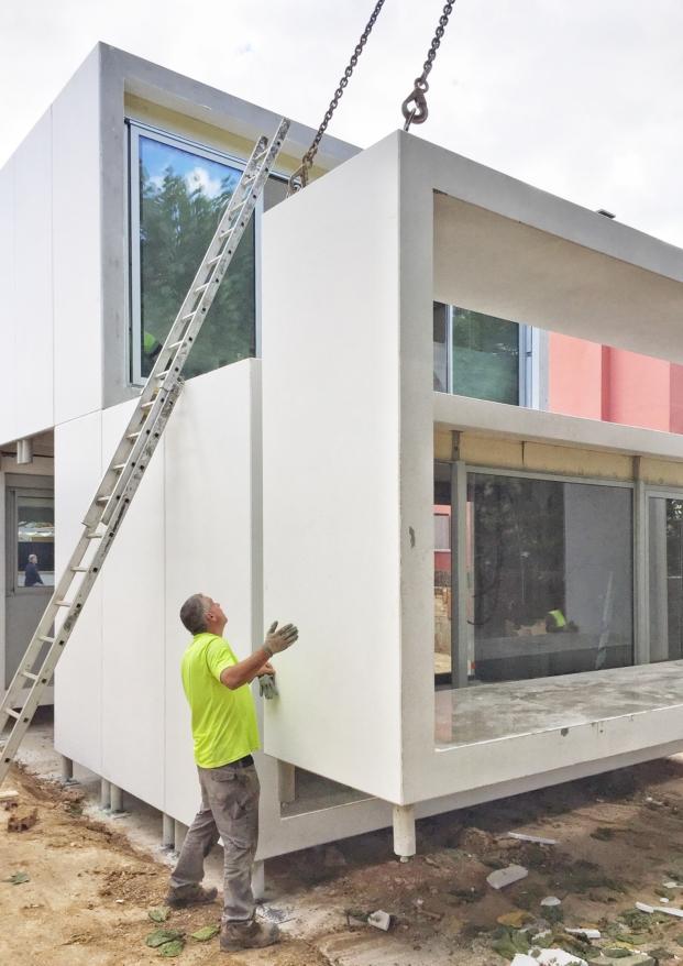 imagen de instalacion casas modulares de smartliving en diariodesign