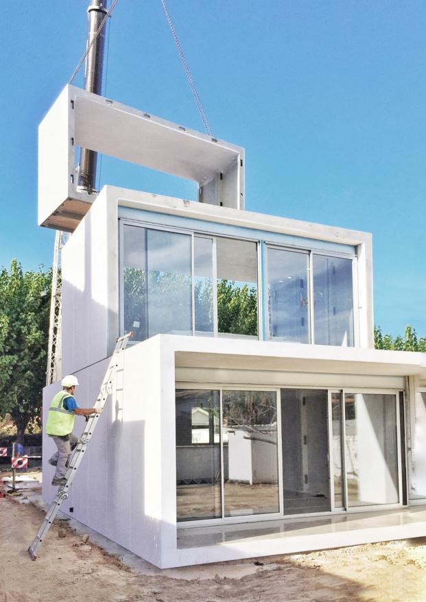 detalle instalacion casa modulares de smartliving