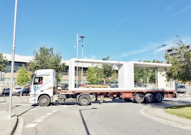 transporte de casas modulares de smatliving