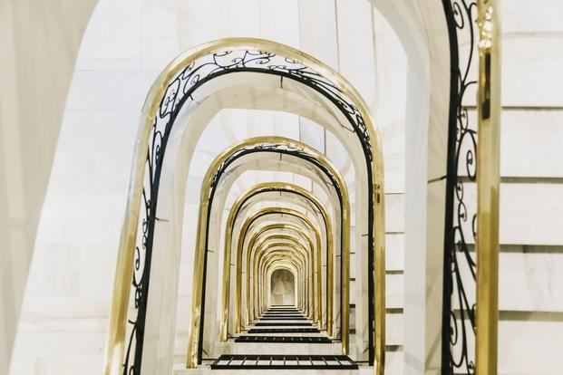 escalera dear hotel en madrid