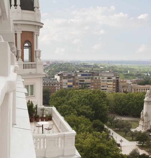 vista desde dear hotel en madrid