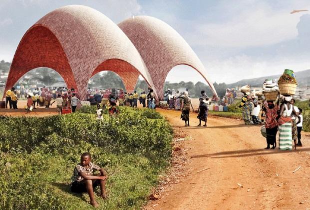 drone port norman foster ruanda diariodesign