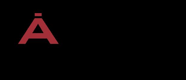 logotipo de ártidi escuela superior de escaparatismo, visual, diseño e imagen