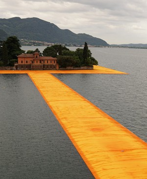 1 The Floating Piers, Lake Iseo, Italy
