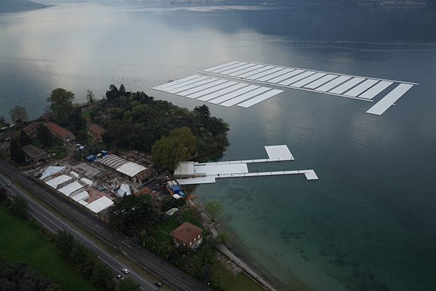 11 The Floating Piers christo