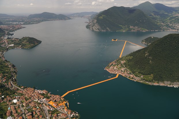 14 The Floating Piers, Lake Iseo, Italy
