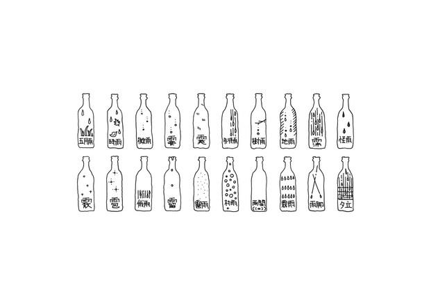 24 nendo holon rain bottle