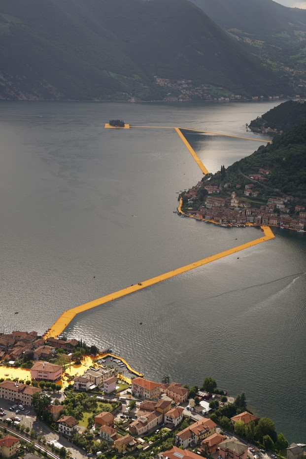 4 The Floating Piers, Lake Iseo, Italy